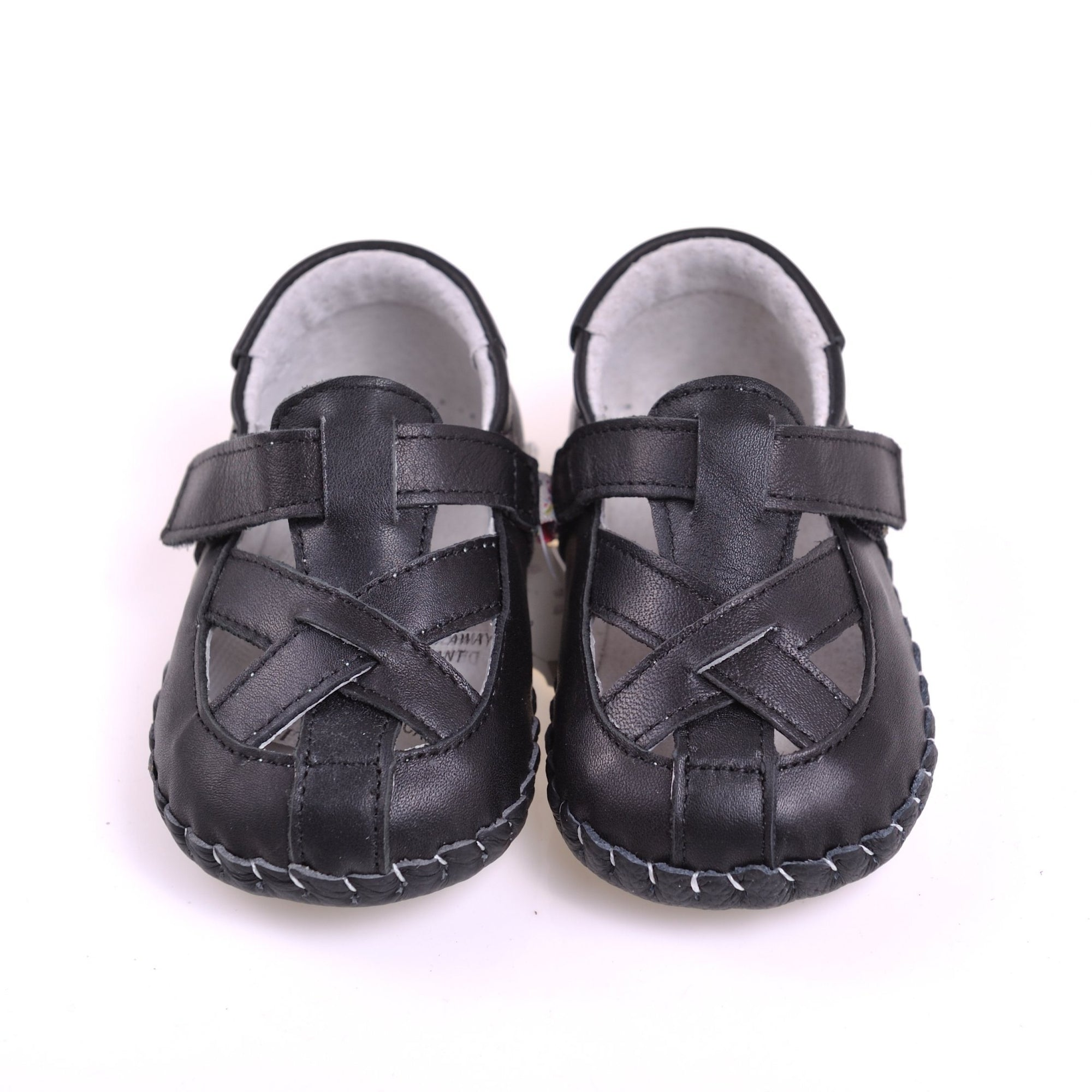 Cross Over Sandals (Black)