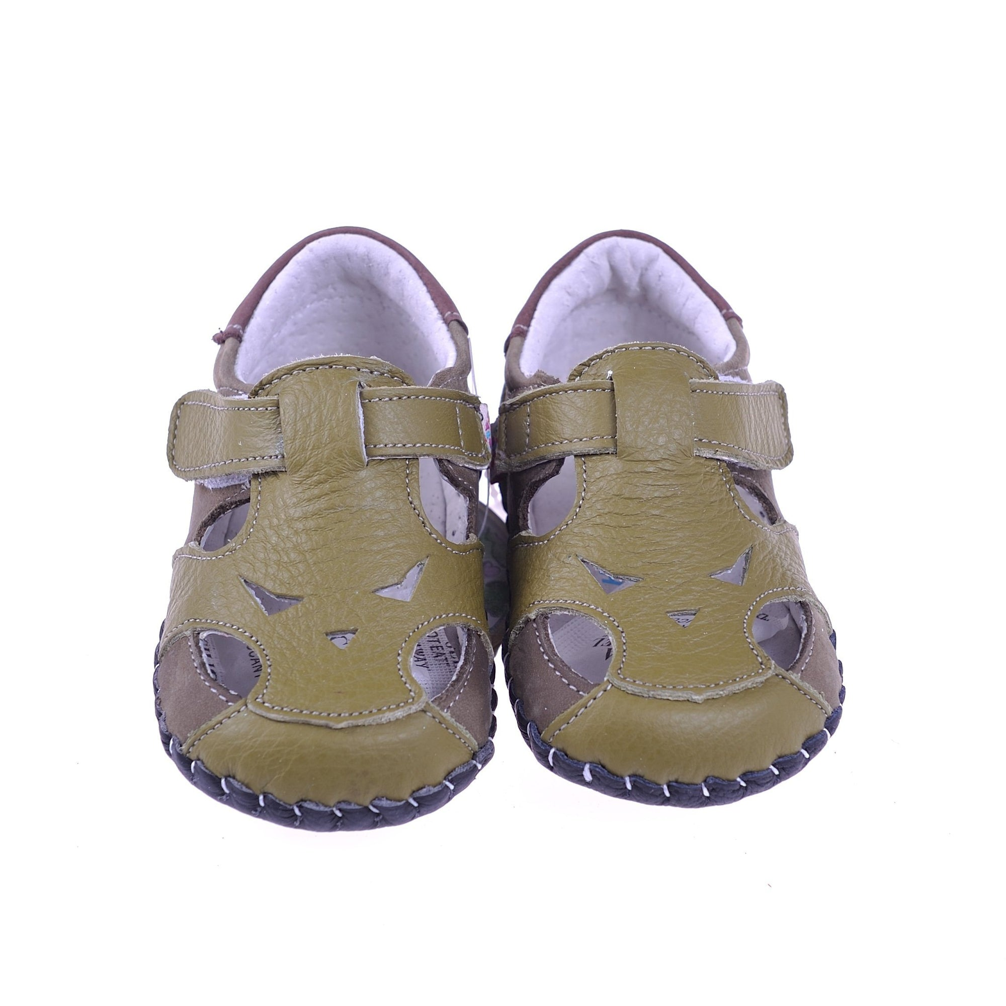 Little Face Sandals (Olive Green)