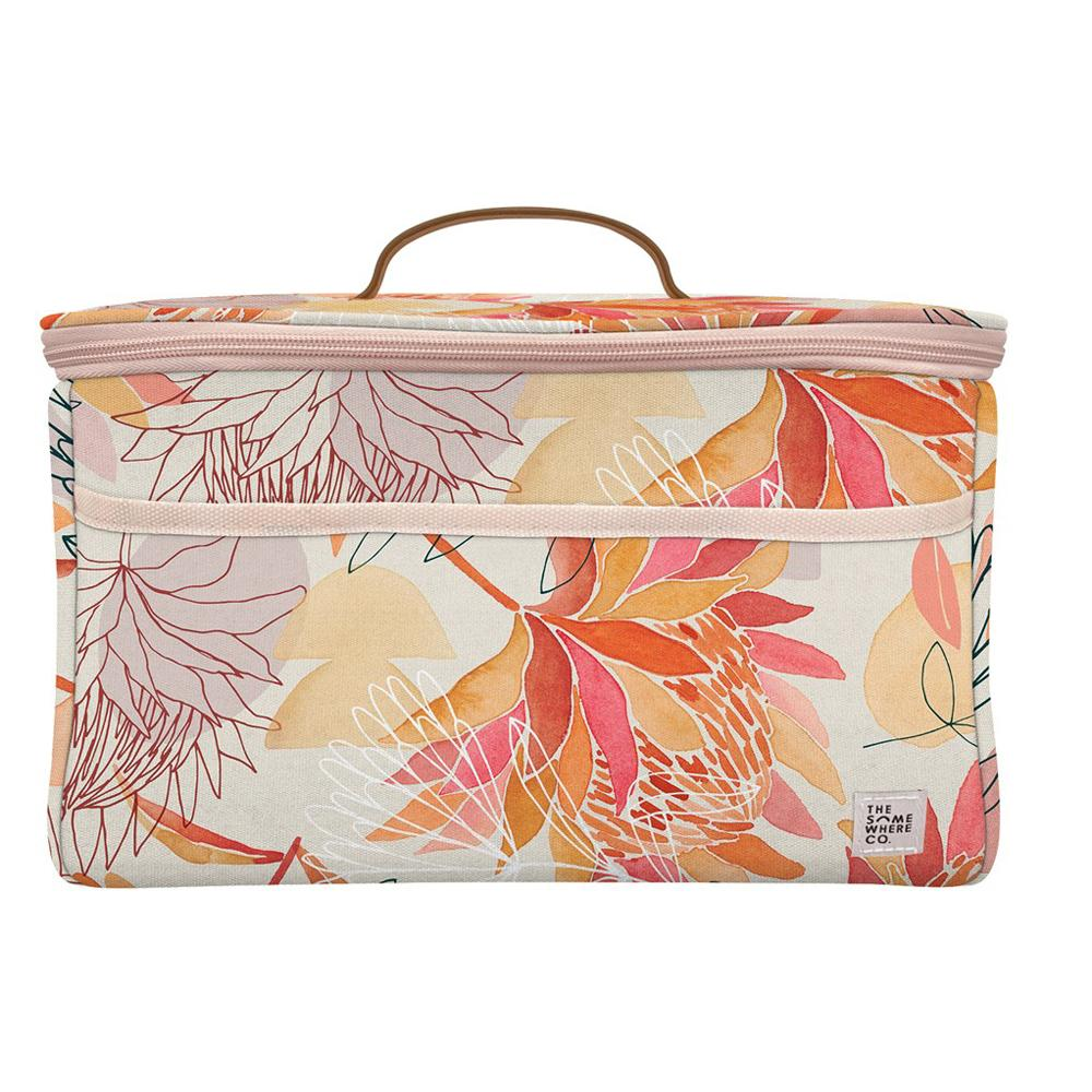 Brushed Protea Midi Cooler Bag