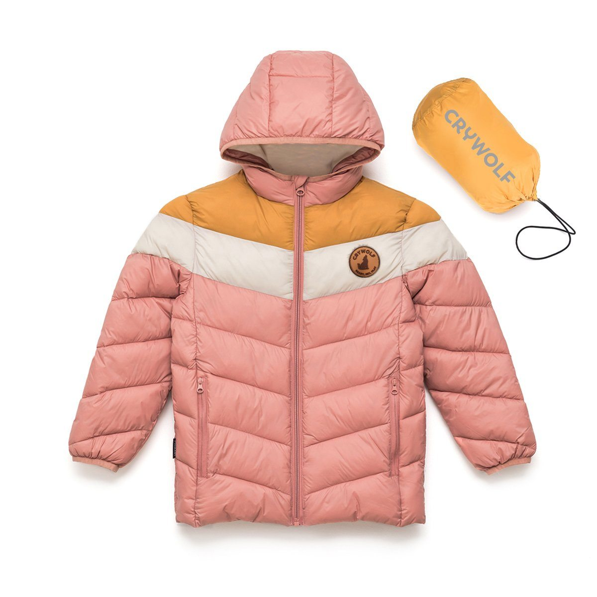 Eco Puffer Jacket (Dusty Rose)