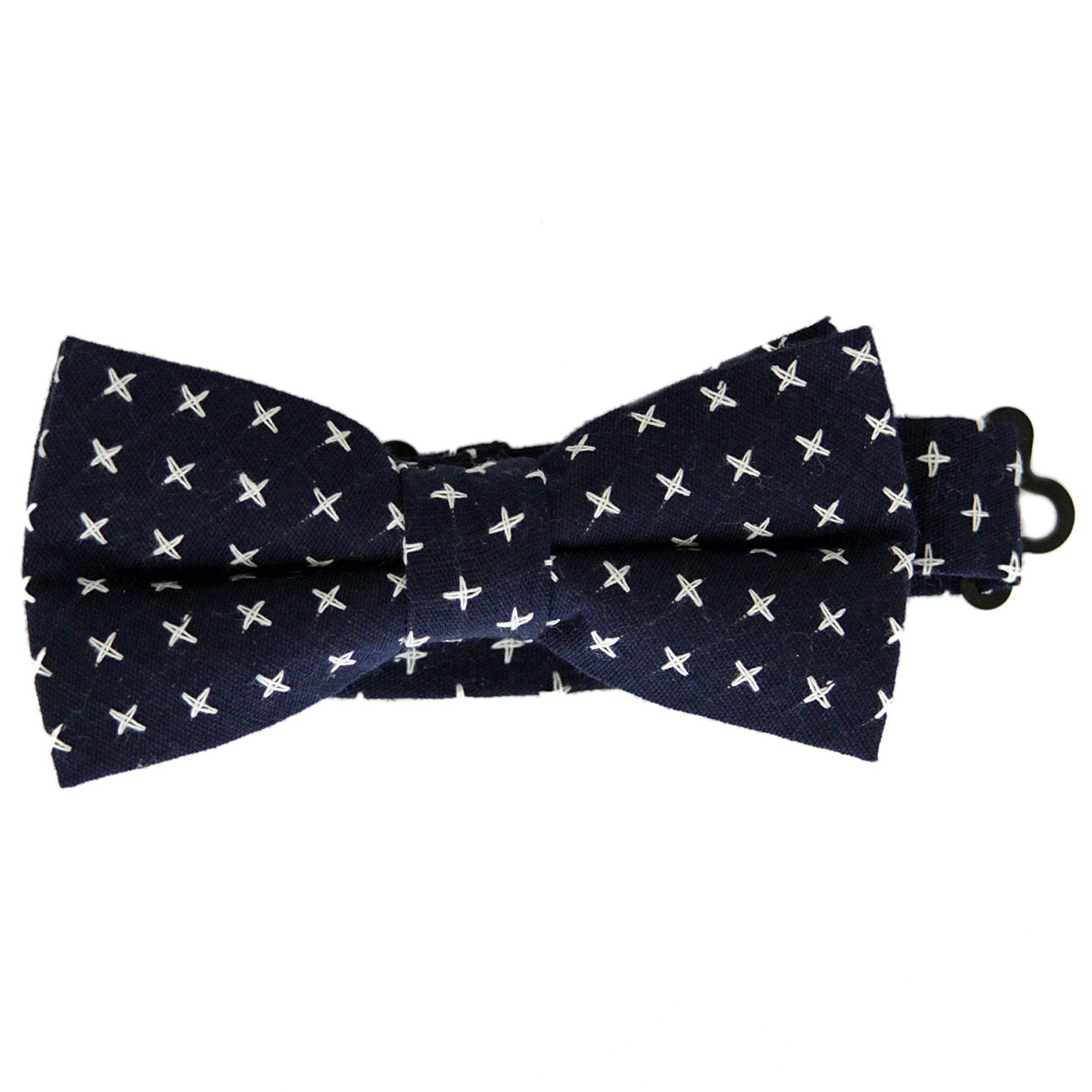 Navy Crosses Bow Tie