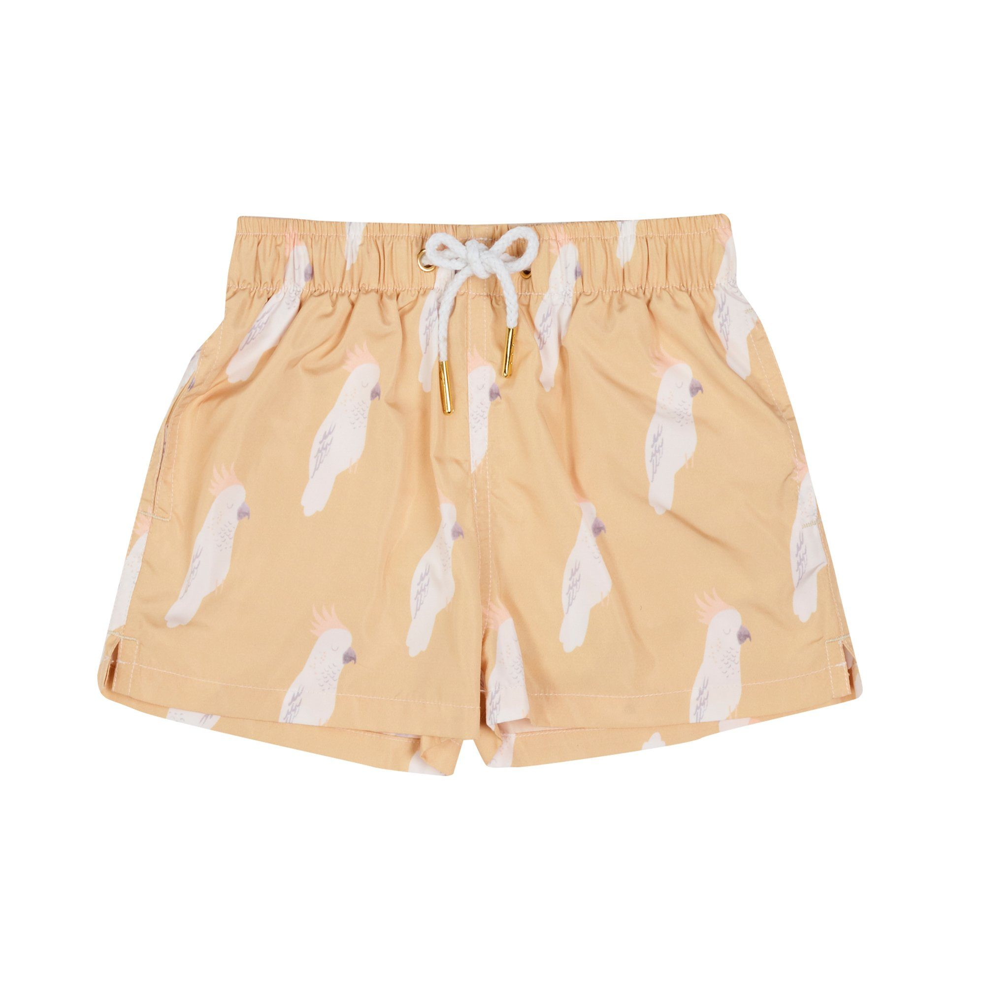 Cockatoo Boardshorts (Lemon)