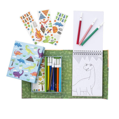 Colouring Set (Dinosaurs)