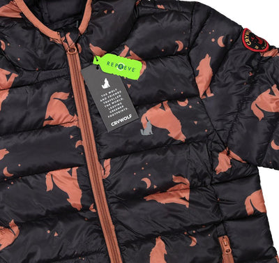 Eco Puffer Jacket (Wolf)