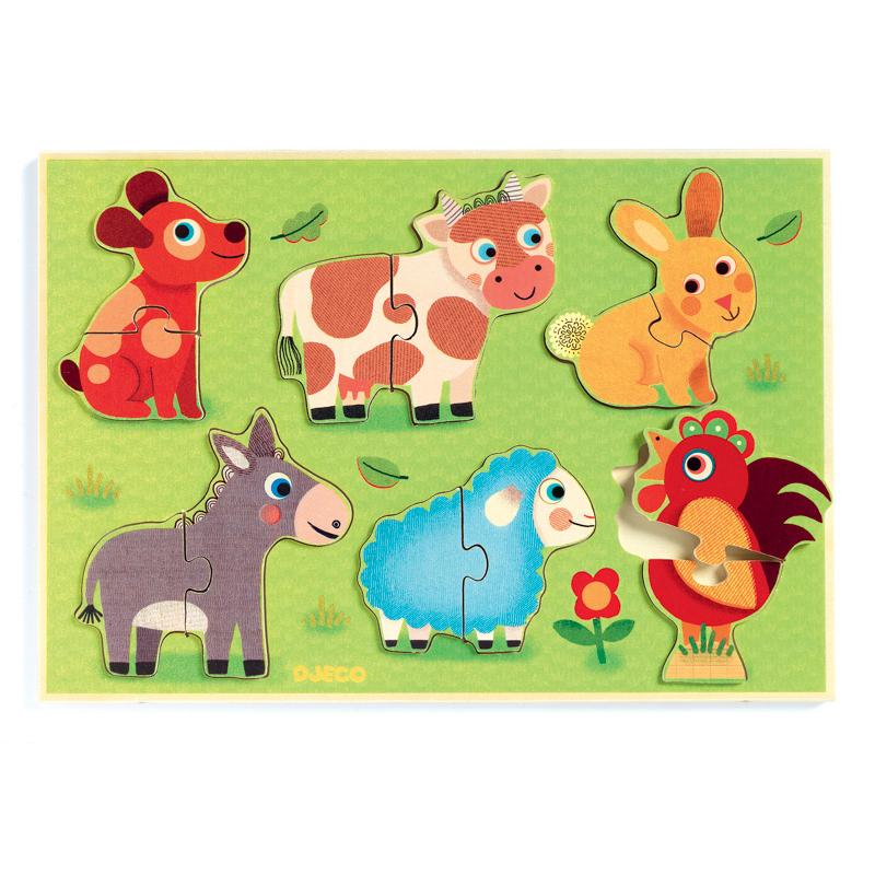 Coucou Cow Puzzle