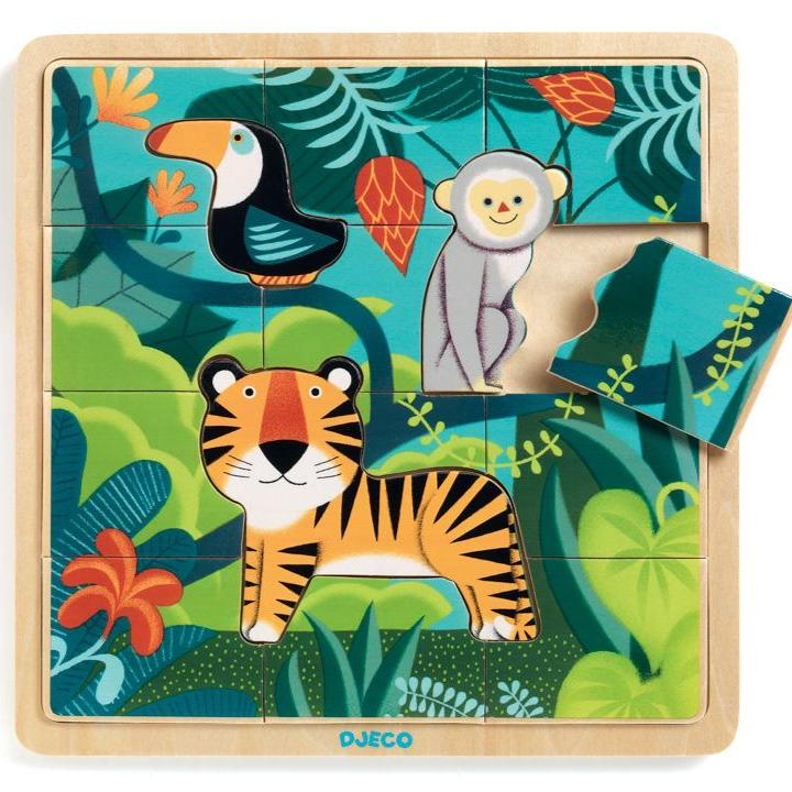 Jungle Wooden Puzzle