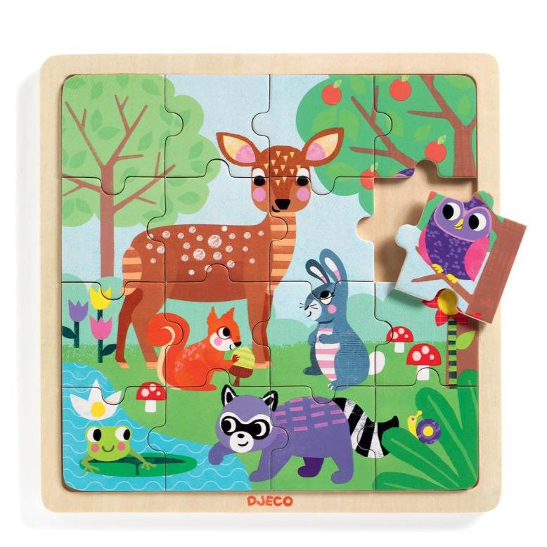 Forest Wooden Puzzle