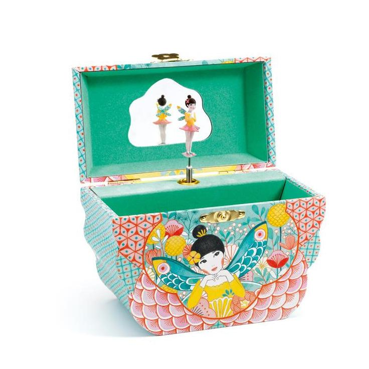 Flower Melody Music Box