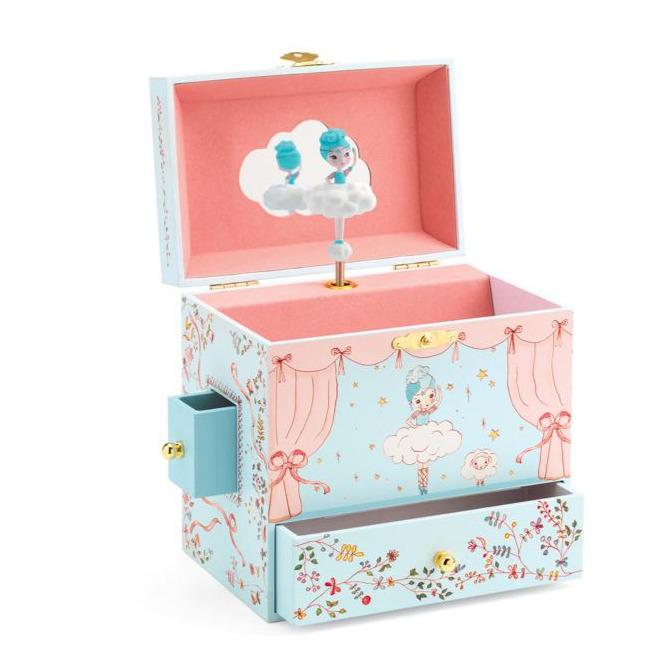 Ballerina on Stage Music Box