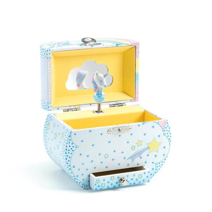 Unicorns Dream Music Box