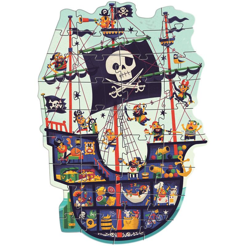 The Pirate Ship Puzzle (36 Pieces)