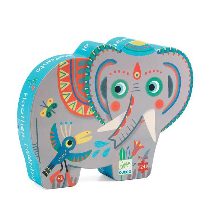 Haathee Asian Elephant Puzzle (24 Pieces)