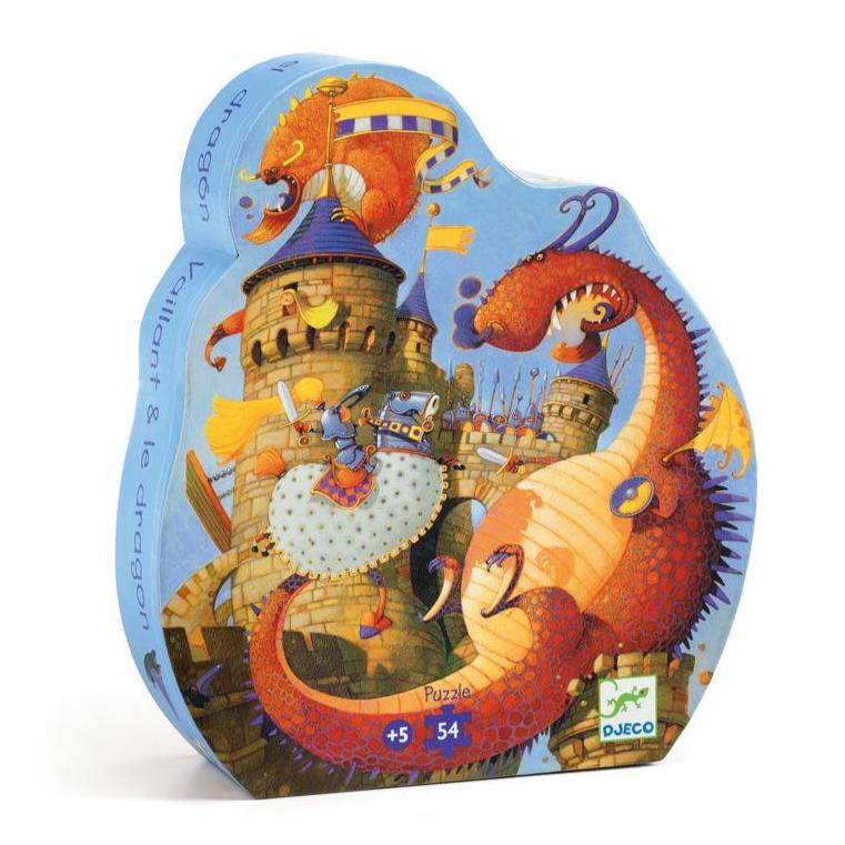 Valliant & the Dragon Puzzle (54 Pieces)