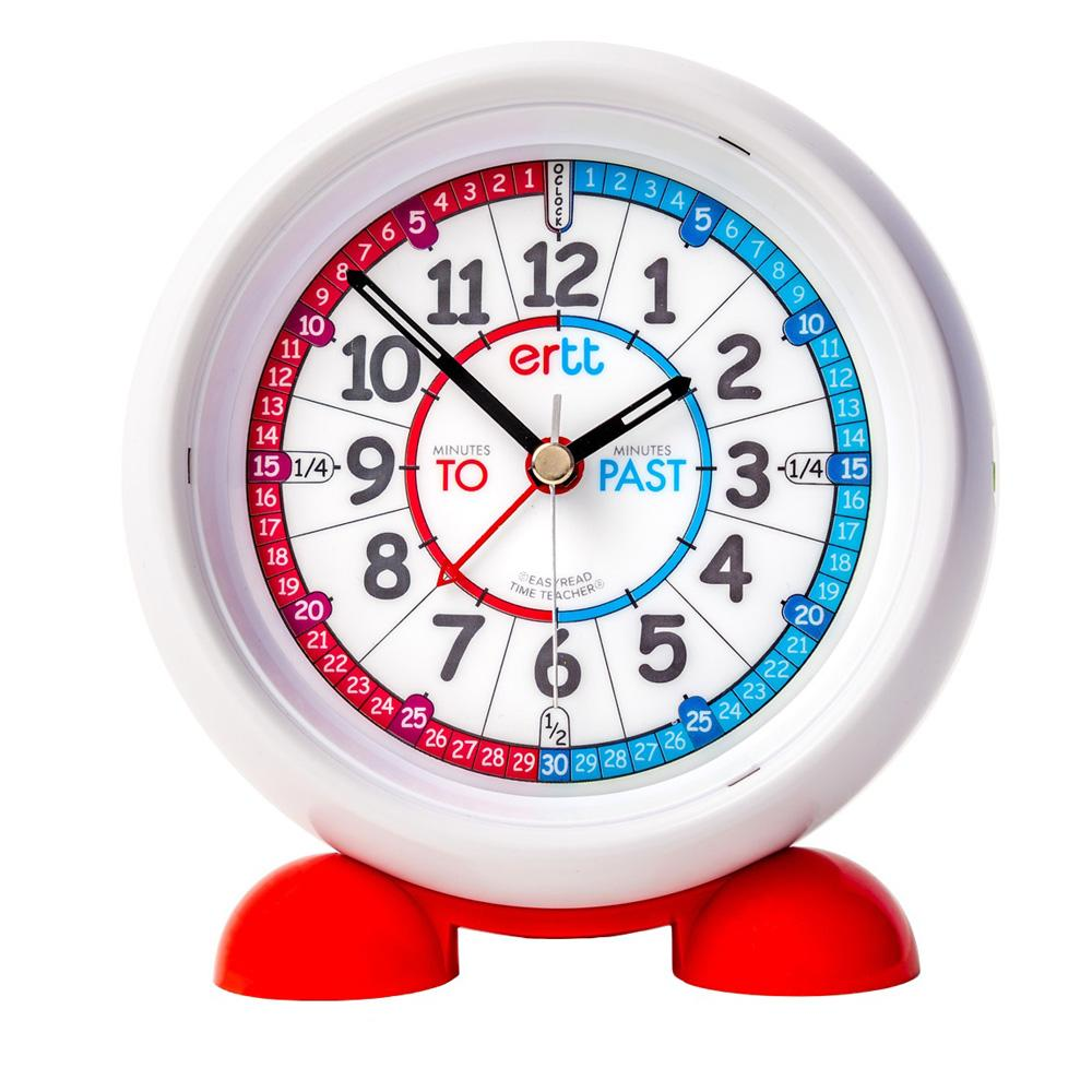 EasyRead Red/Blue Alarm Clock Past/To