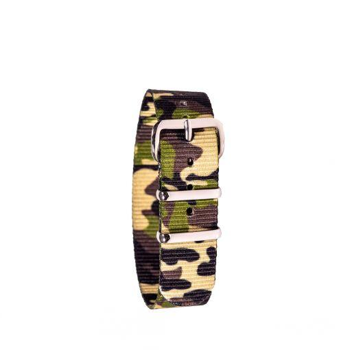 Green Camo Watch Strap
