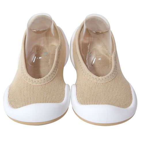Flat Mono Shoes (Beige)