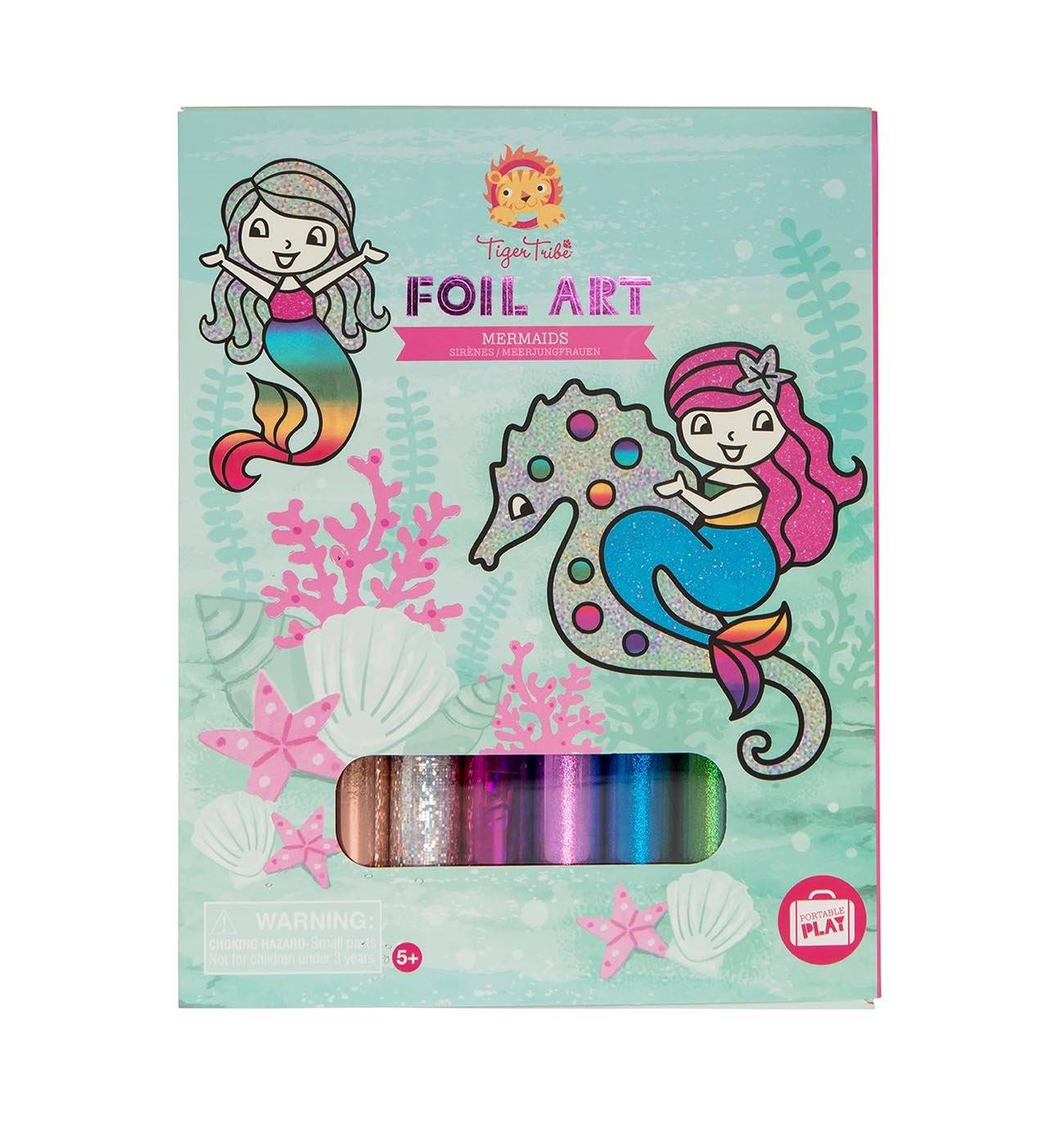 Foil Art (Mermaids)