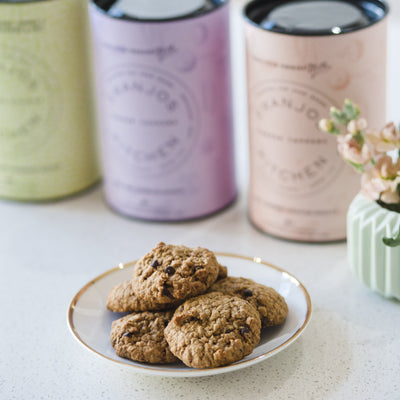 Fig & Almond Lactation Biscuits