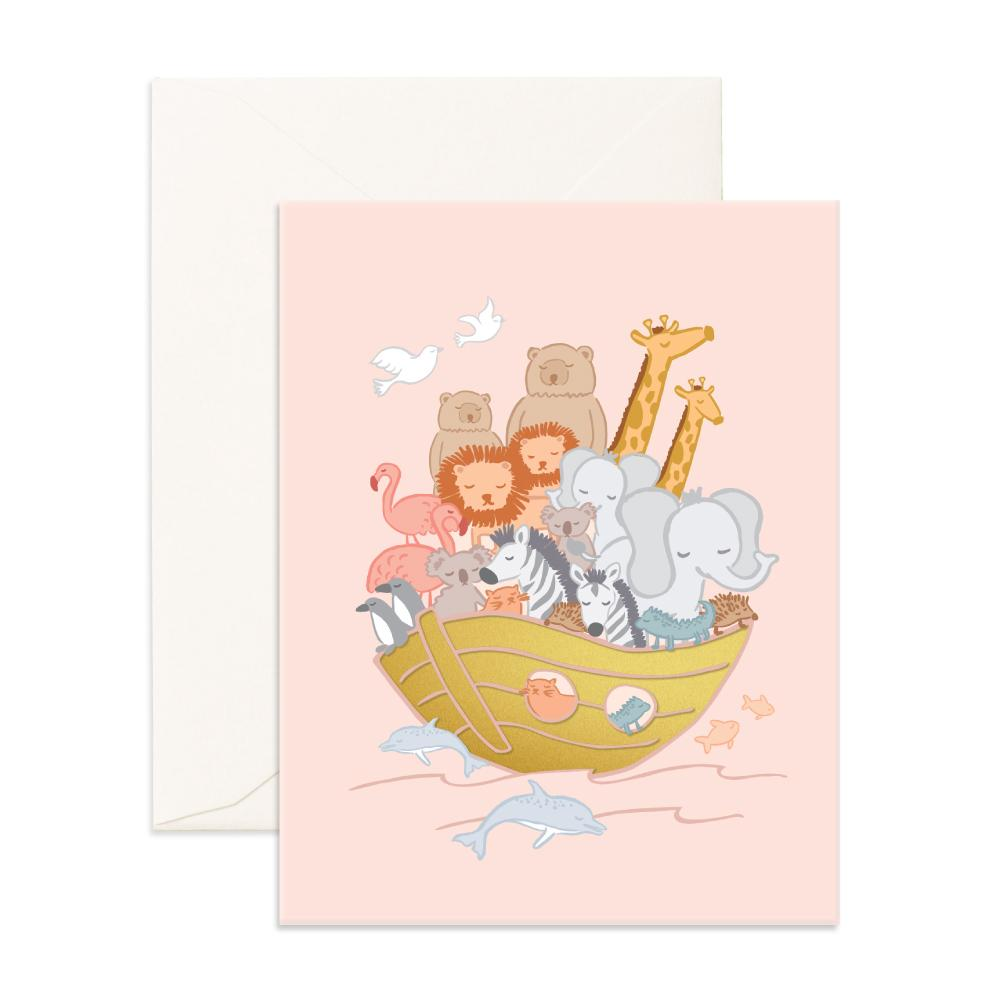 Noahs Ark Greeting Card