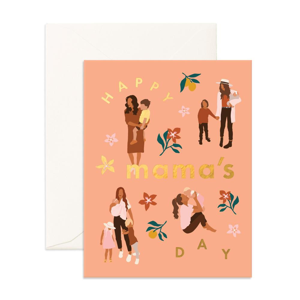 Happy Mamas Day Greeting Card