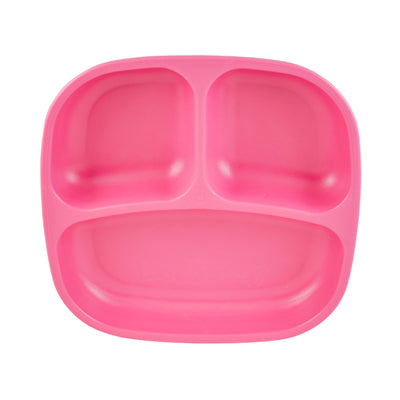 Divided Plate (Bright Pink)