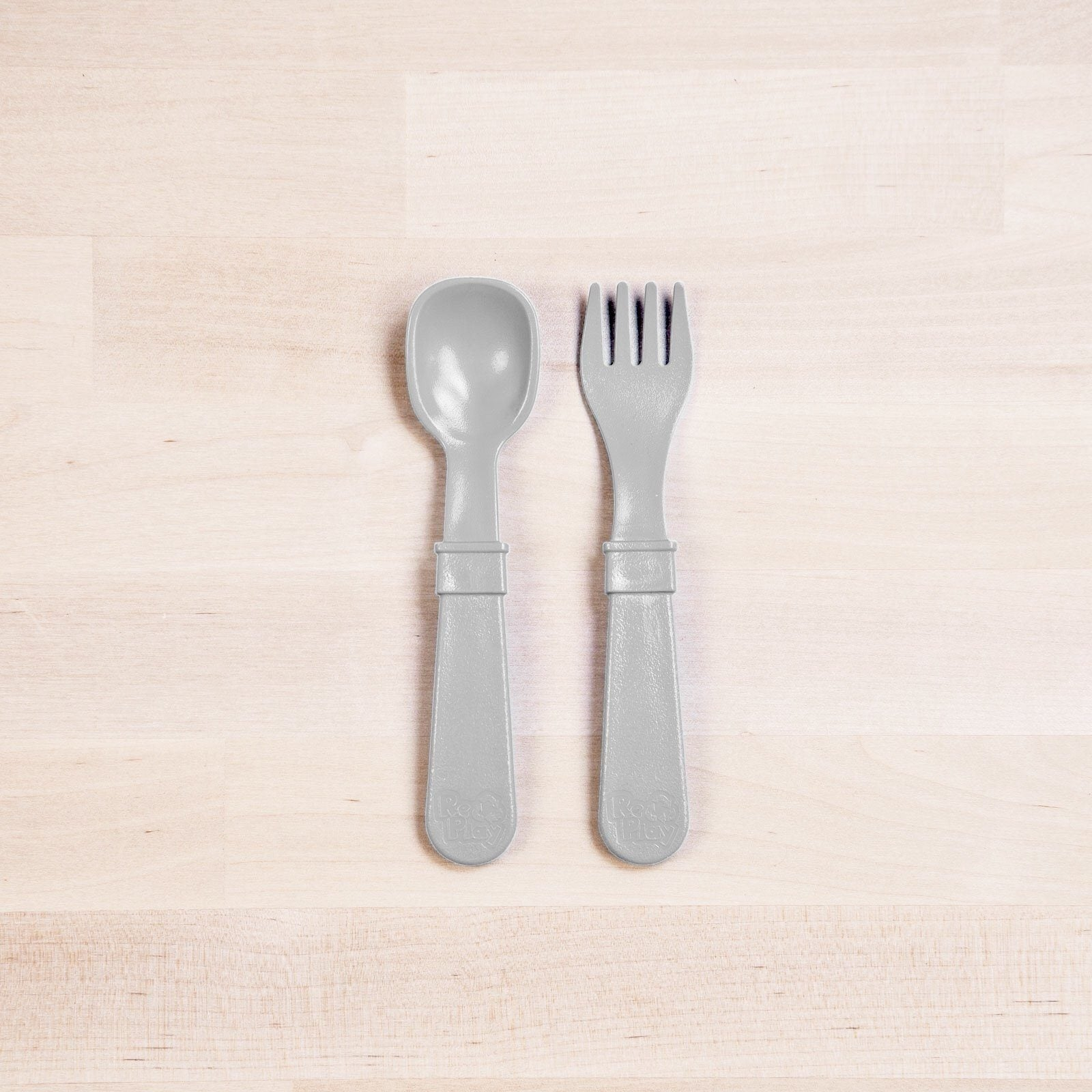 Fork and Spoon (Grey)