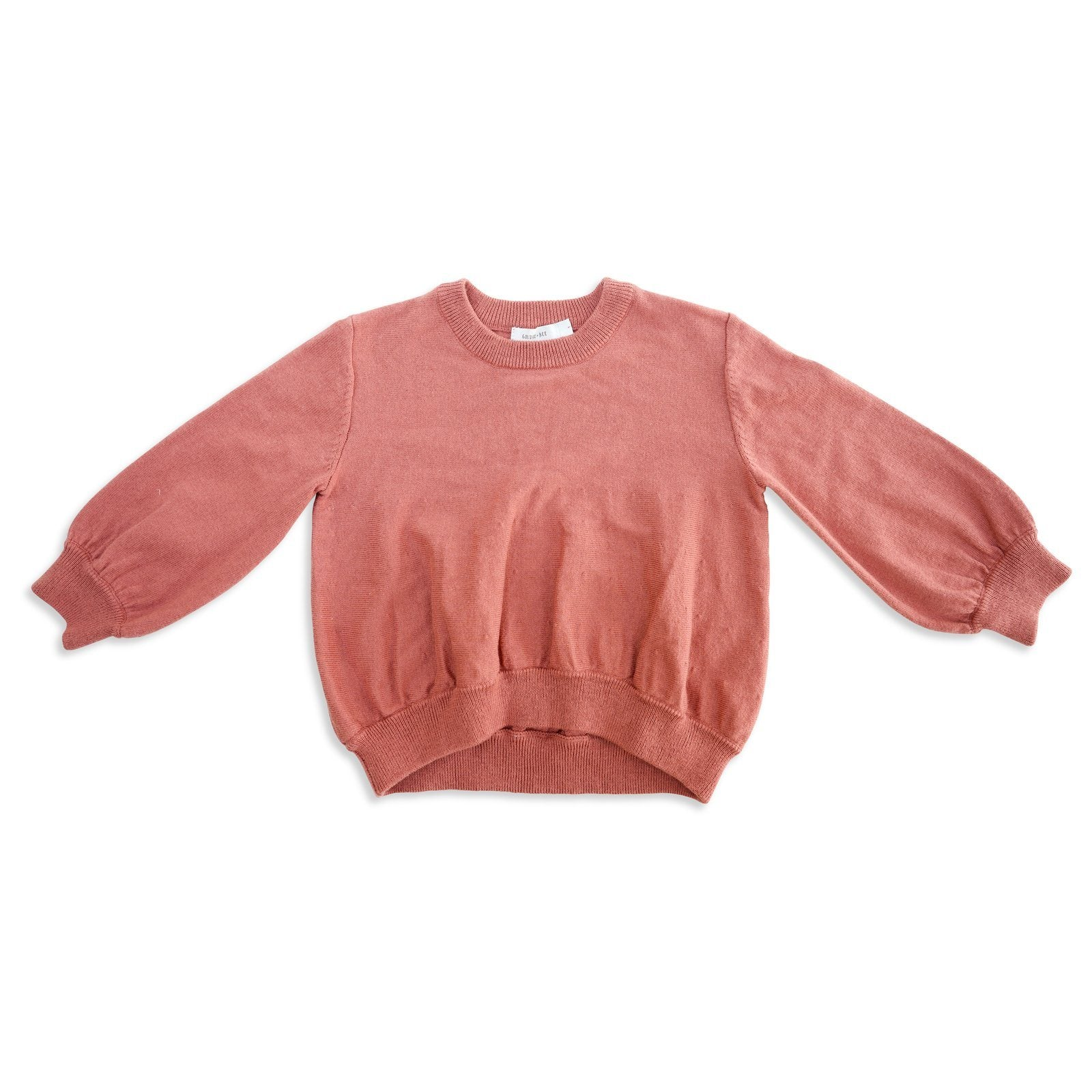 Harlow Fine Knit Sweater (Rose)