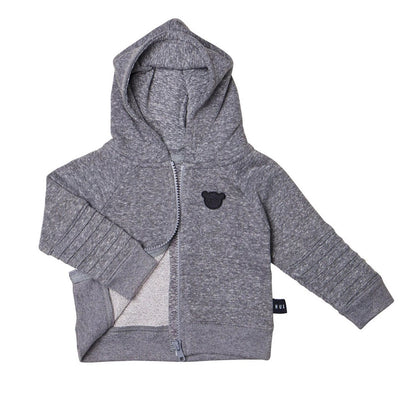 Charcoal Terry Hoodie