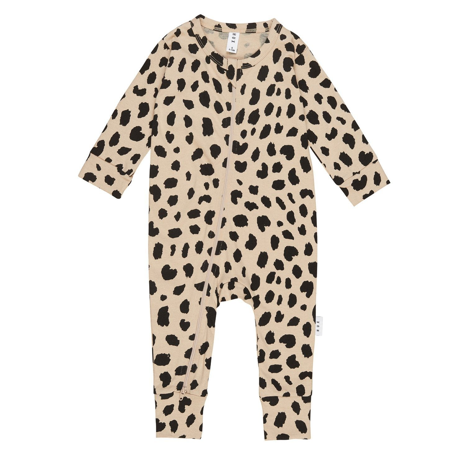 Animal Spot Zip Romper