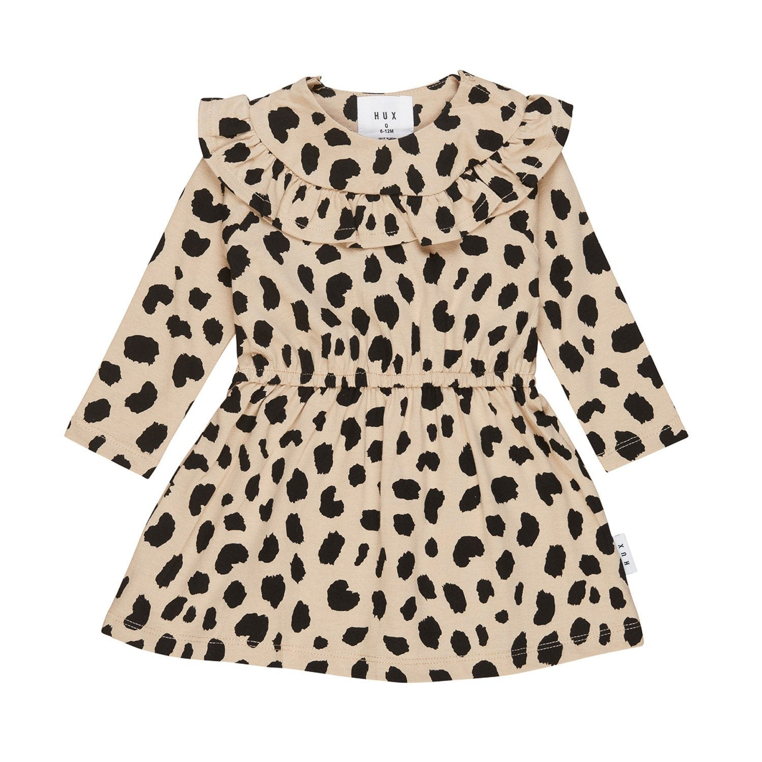 Animal Spot LS Dress