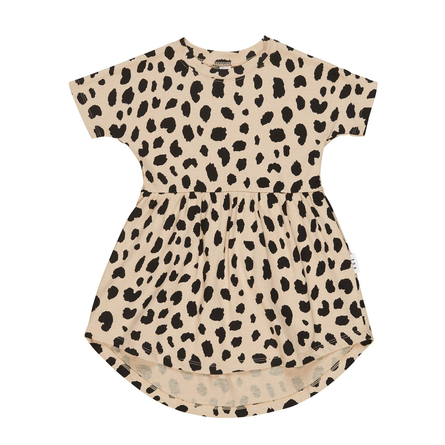 Animal Spot Swirl Dress