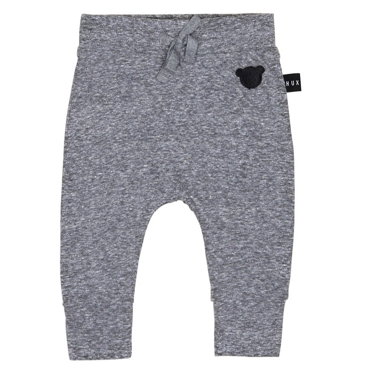 Charcoal Drop Crutch Pants