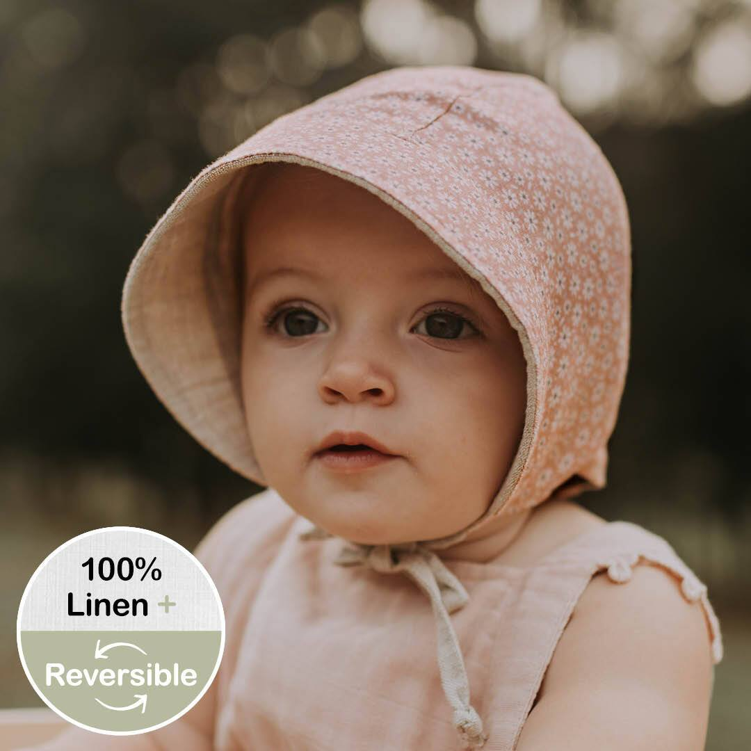 Reversible Sun Bonnet (Polly/Flax)