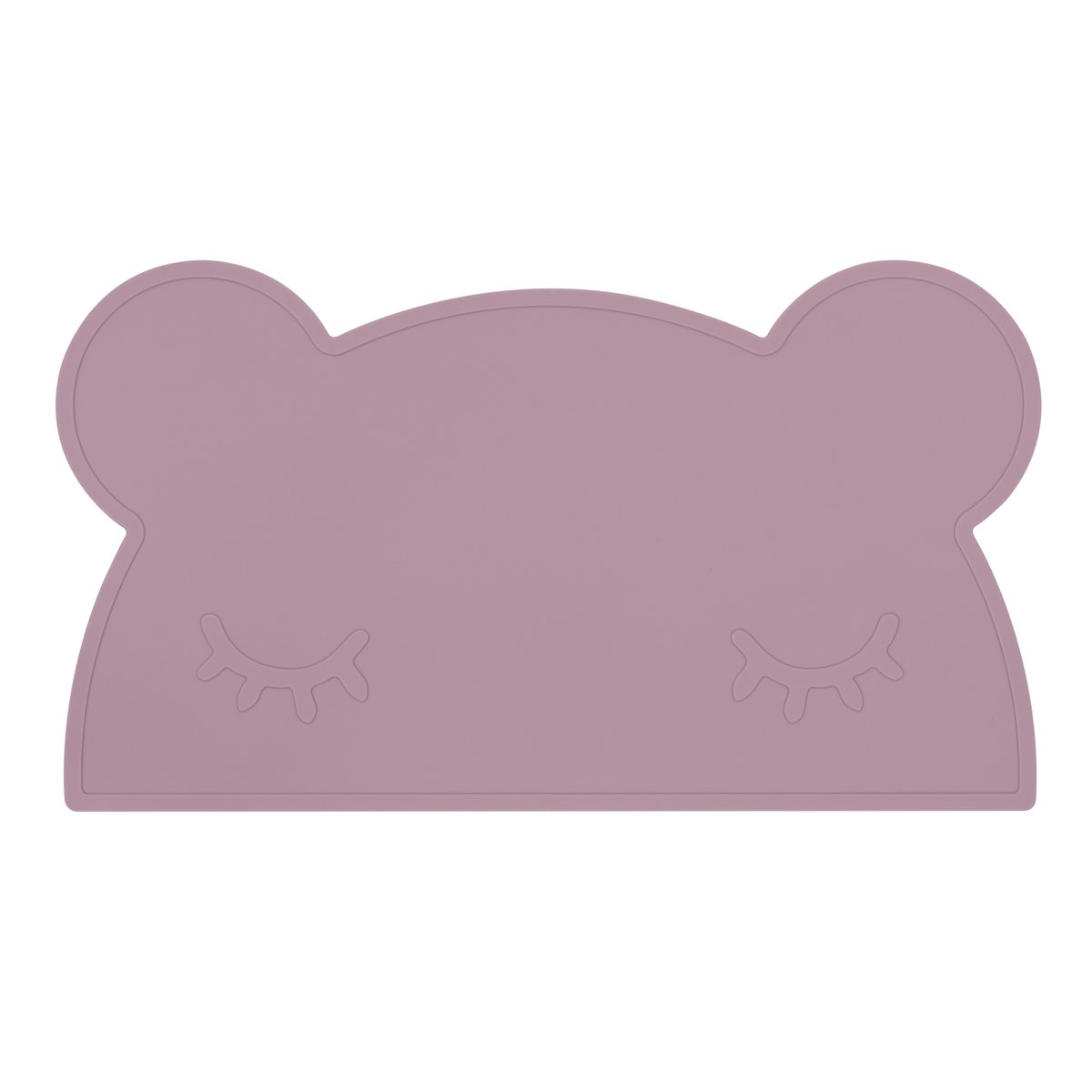 Bear Placemat (Dusty Rose)