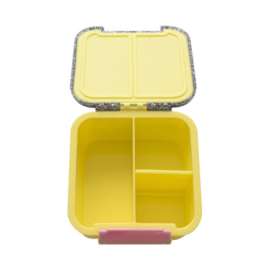 Bento Two Lunch Box (Yellow Glitter)