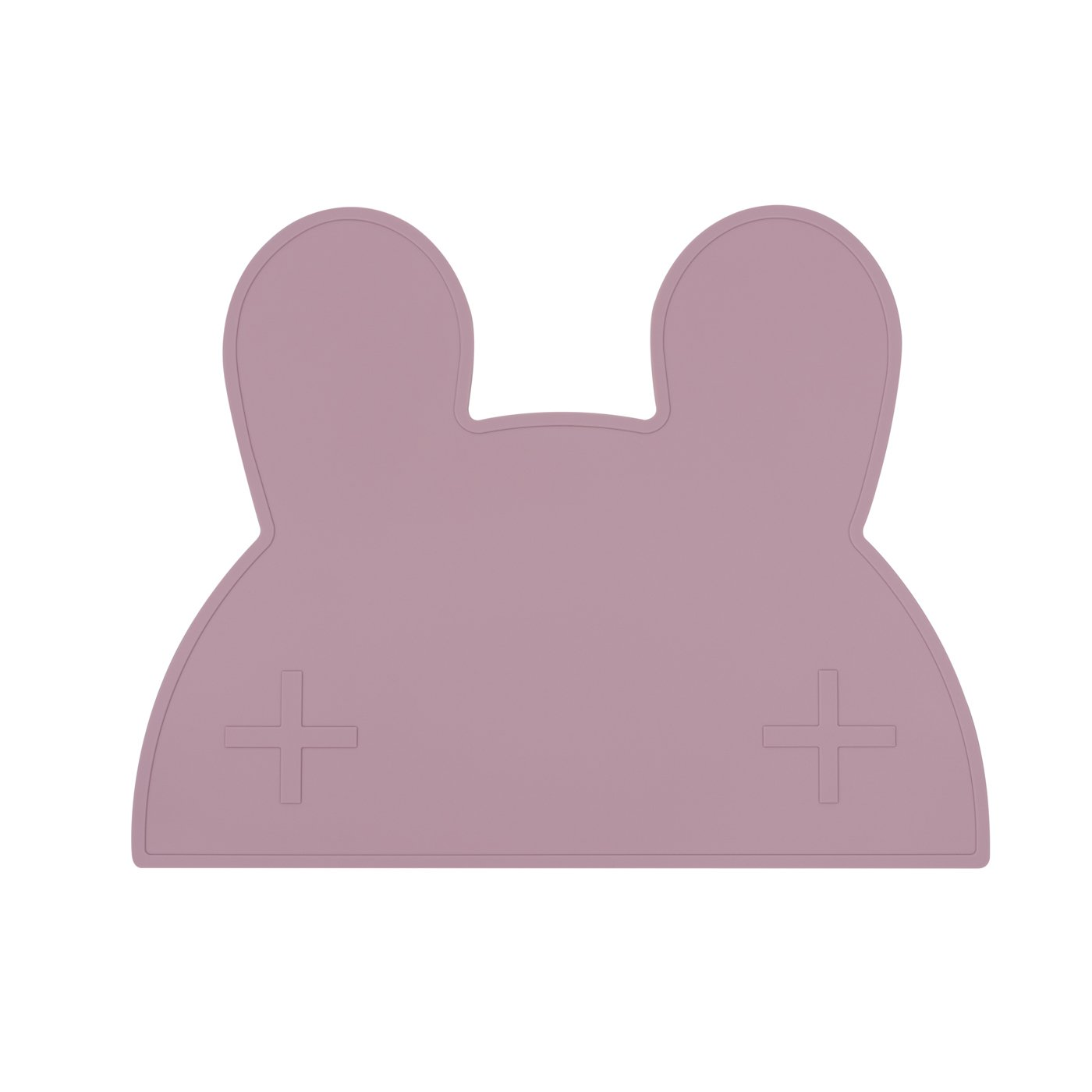 Bunny Placemat (Dusty Rose)