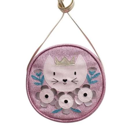Springtime Cat Shoulder Bag