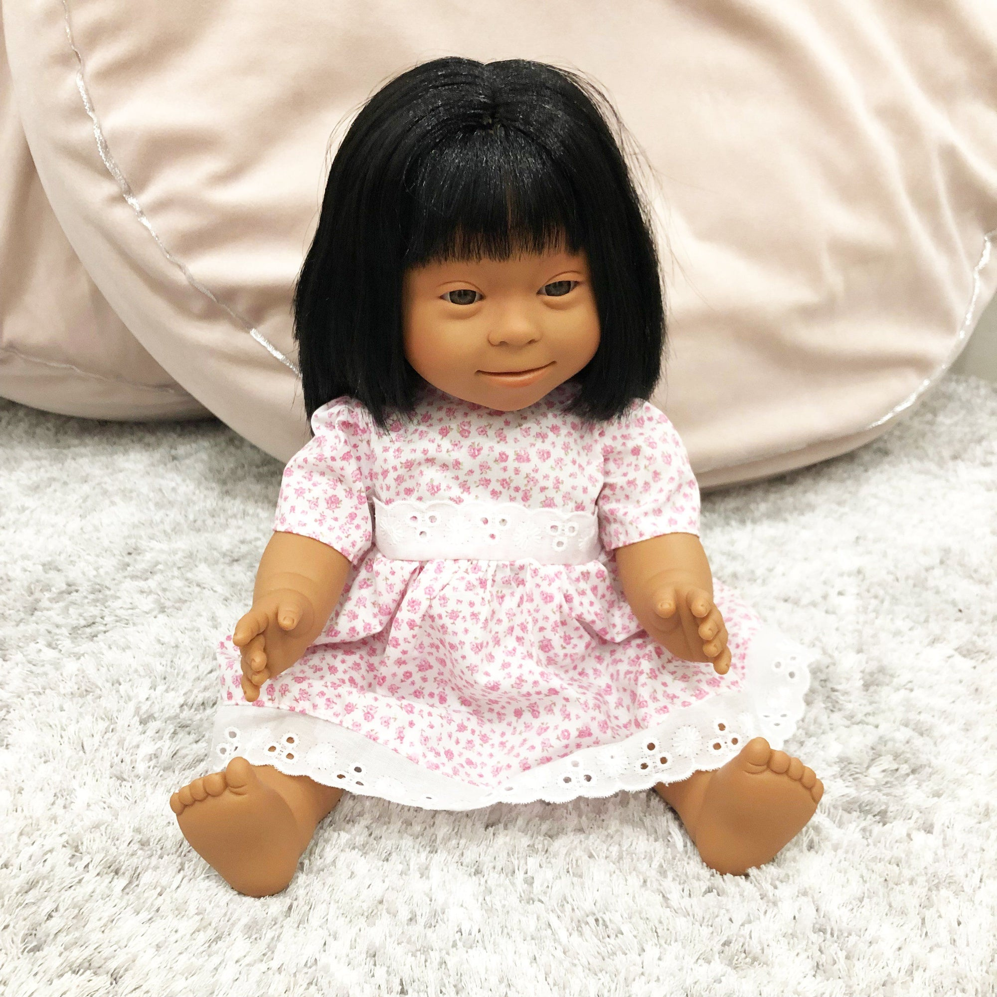 Down Syndrome Baby Girl Doll (Asian)