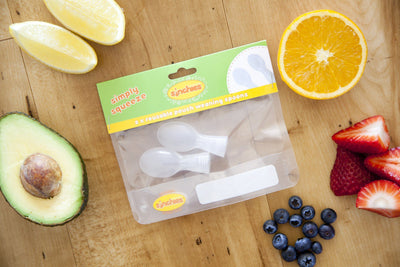 Reusable Food Pouch - Spoons (2 Pack)