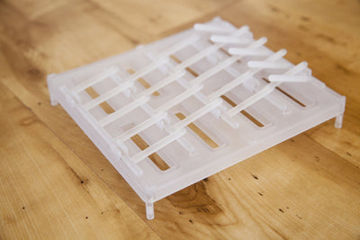 Reusable Food Pouch Drying Rack