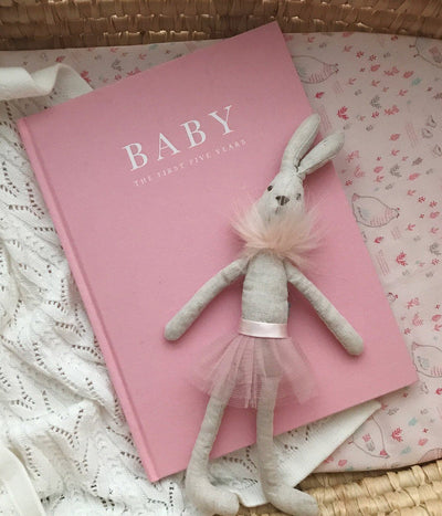 Baby Journal - Birth to 5 Years (Pink)