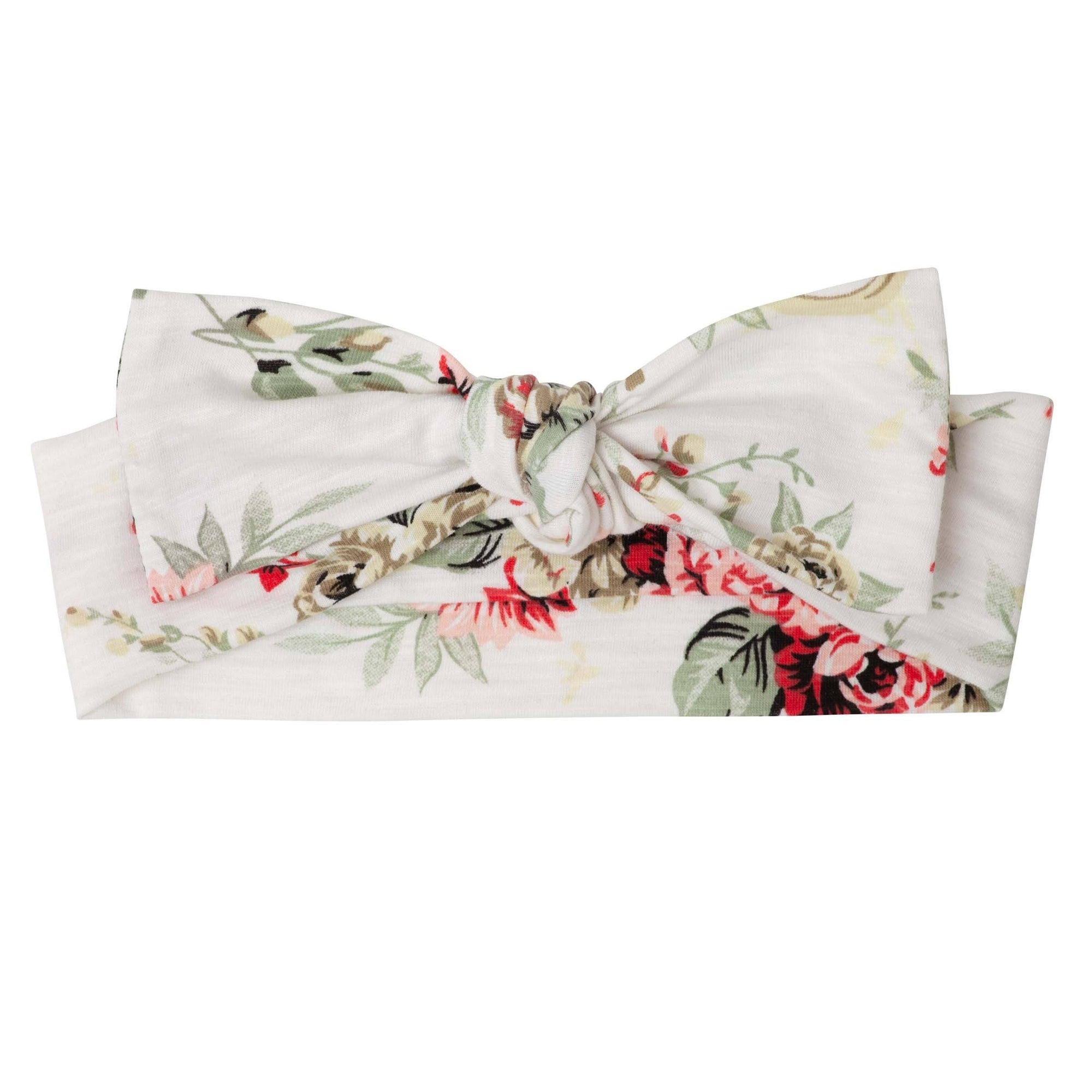 Sadie Floral Headband (Red)