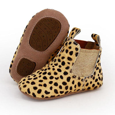 Infant Riding Boots (Leopard)