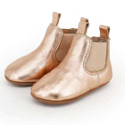 Infant Riding Boots (Rose Gold)