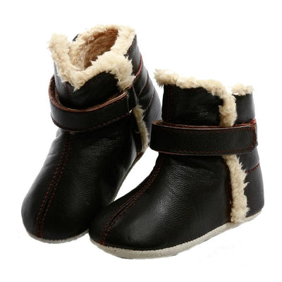 Infant Snug Boots (Chocolate)