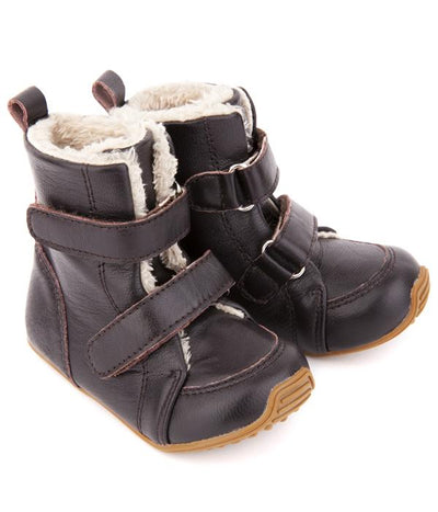 Junior Snug Boots (Chocolate)