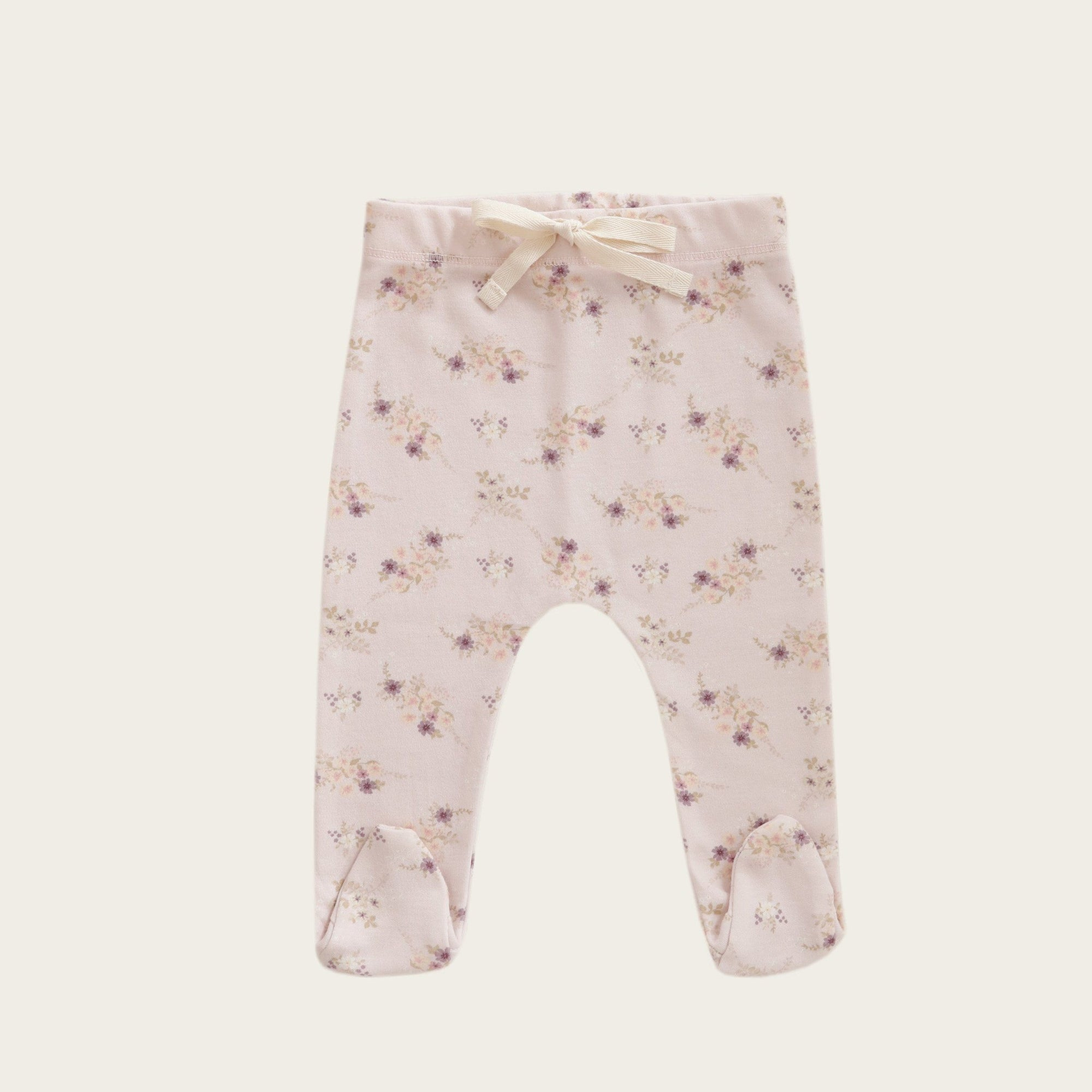 Sweet Pea Floral Footed Pant