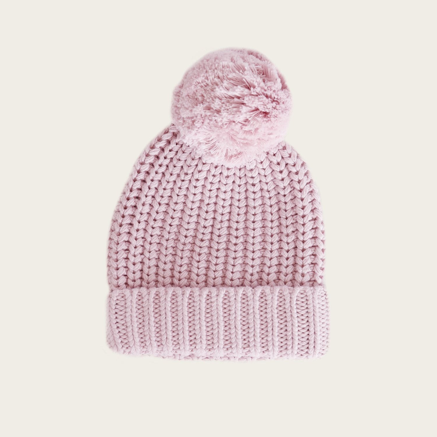 Cosy Hat (Old Rose)