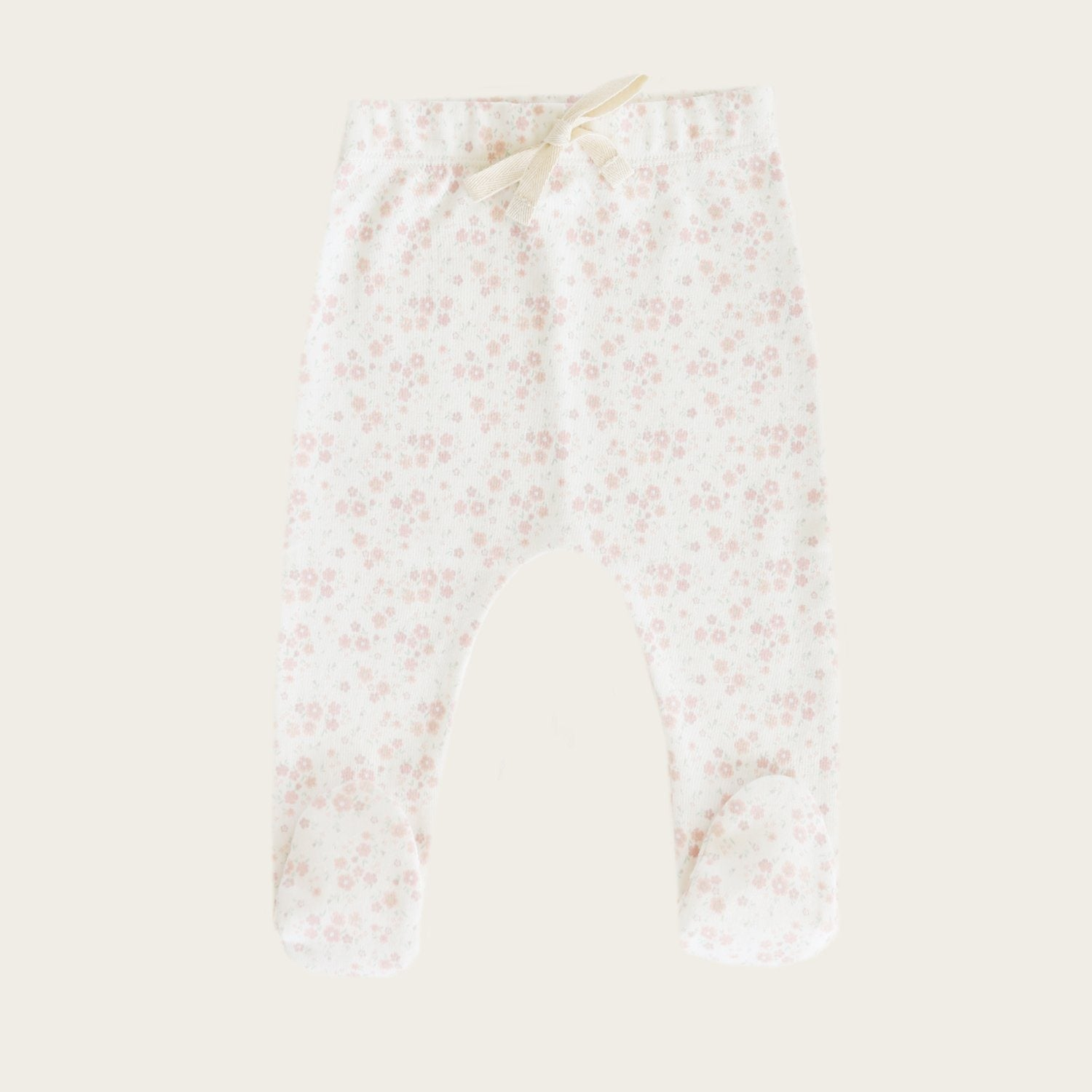 Footed Pants (Primrose Floral)
