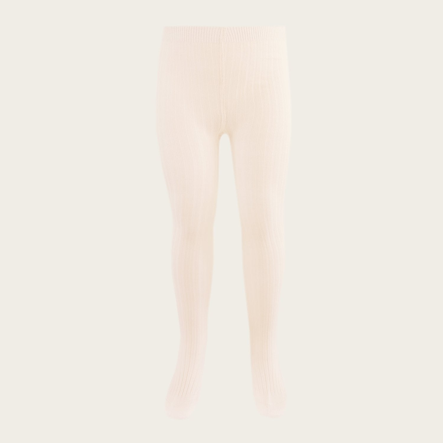 Ribbed Tights (Peach Dust)